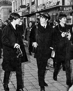 Paul, John + George
