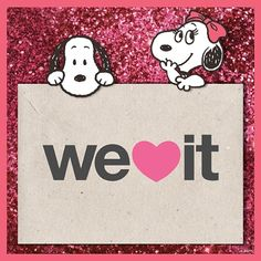 Snoopy Just joined @WeHeartIt!