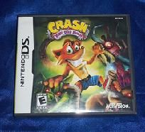 Crash Bandicoot Mind Over Mutant Nintendo DS Game w/FREE SHIPPING