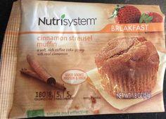B (G) - Cinnamon Streusel Muffin. Very nice taste. Heated it in microwave. Not big, but very filling.