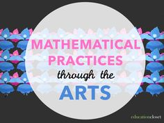 Here's a lesson idea for integrating math, music, dance and visual art through patterns. Website has numerous lesson plans that integrate the arts with reading and math! Music Math, Music Classroom, Teaching Music, Mathematical Practices, Math Practices, Math Enrichment, Math Activities, Math Resources, Math Art