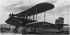 Gloster AS.31 (1929) purpose-built aerial photography plane. South African Air Force