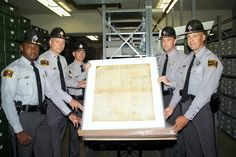 March 18, 2003: a sting operation resulted in the recovery of #NC's copy of the Bill of Rights from a group of antiques dealers