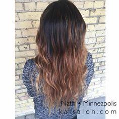 #kaisalonmn #balayage #minneapolishair #northloop #hair #minneapolis #ombre #sombre #brownhair #themoment
