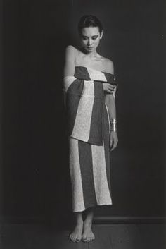 Tina Chow by Marcus Leatherdale  for Issey Miyake, 1983