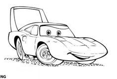 dibujos de cars para colorear 4