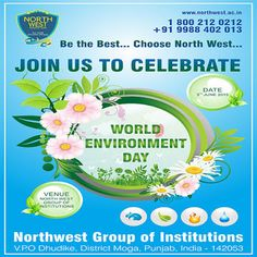 NORTH WEST GROUP OF INSTITUTIONS: World Environment Day at North West on 5th June 20...