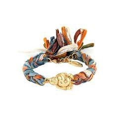 Ettika Vintage Buddha Charm Bracelet ($45) ❤ liked on Polyvore featuring jewelry, bracelets, fashion jewelrybracelets, bracelet charms, charm bracelet, vintage bracelet, ribbon charms and lobster clasp charms