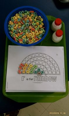 Lesson Plans to Pots and Pans | Rainbow Lessons and Activities