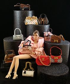 https://flic.kr/p/6yas6C | Shopping for Labels | Purses by LaBoutique! View the Purse Of The Month here at LaBoutique www.picturetrail.com/sfx/album/view/7504078