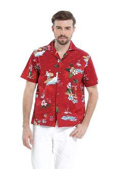 cb5f8e54 Hawaii Hangover Men's Hawaiian Shirt Aloha Shirt Christmas Shirt Santa