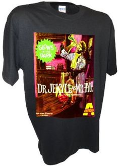 Men's Aurora Dr. Jekyll Hyde Monster Model Kit Sci Fi Horror Movie T Shirt By Achtung T Shirt LLC:Amazon:Clothing