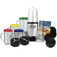jcp   Magic Bullet® Blender (I want one with all the cups...so it doesn't have to be this one, but I just need something that I can make one cup at a time and not have to clean the whole thing before I used it again.)