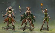 ArtStation - Character Unit designs , Tyler edlin