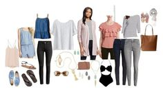 texas by brittru84 on Polyvore featuring polyvore, fashion, style, Sweet Rain, Merona, Helmut Lang, Kensie, H&M, Barbour, LOFT, American Eagle Outfitters, Soludos, Gap, MICHAEL Michael Kors, Michael Kors, Kendra Scott, Kate Spade, Forever 21, Charlotte Russe and clothing