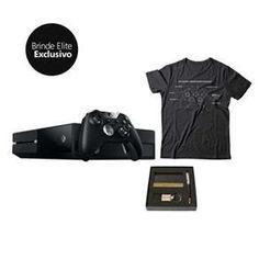 f08109627 Console Xbox One 1TB com Controle Elite + Kit Elite Especial Você É  Especial, Consoles