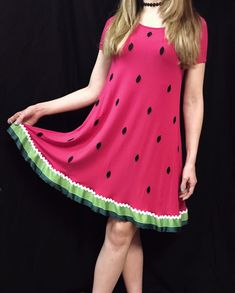 Watermelon Dress DIY