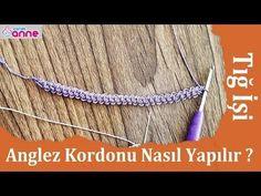 Anglez Kordonu Nasıl Yapılır ? - YouTube Crochet Cord, Crochet Poncho, Irish Crochet, Romanian Lace, Point Lace, Needle Lace, Diy And Crafts, Sewing, Knitting