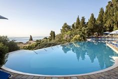 Welcome to Aeolos Corfu Beach Resort. One of the most beautiful Beach Resorts in Corfu, surrounded by gardens and the infinite blue of the Ionian Sea. Corfu Beaches, Beach Hotels, Beach Resorts, Most Beautiful Beaches, Beach Pool, East Coast, Outdoor Decor, Holiday, Rice