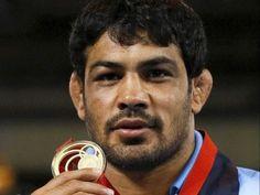 Sushil Kumar: Gold medal in Men's wrestling, 75kg