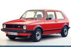 Volkswagen Golf Mk1 (Giorgetto Giugiaro) 1974.