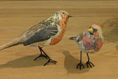 ideas for paper bird mache Paper Mache Projects, Paper Mache Crafts, Sculpture Projects, Bird Crafts, Art Projects, Paper Mache Sculpture, Bird Sculpture, Animal Sculptures, Origami