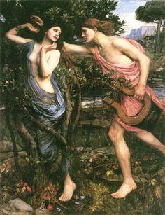 Apollo and Daphne - 1908     Location: Private Collection