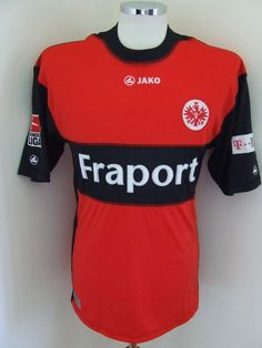 Posted on by Vintage Sports. View more classic, retro, and new season Eintracht Frankfurt football T-shirts and soccer jerseys Germany Football, Vintage Football Shirts, Football Kits, Red Black, Soccer, Seasons, Club, T Shirt, Tops