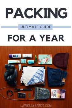 Ultimate female packing list for a year in china or anywhere, really! - learn from my mistakes! la vie sans peur, life without fear. Packing List For Travel, Packing Tips, Travel Tips, Travel Hacks, Travel Deals, Budget Travel, Study Abroad Packing, Vacation Deals, Travel Stuff