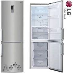 LG A Kombi 190cm KÜHL Gefrierkombination Kühlschrank NO Frost Edelstahl NEU | eBay