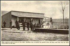 Entrance into Elmira Prison