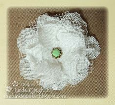 Wednesday, March 16, 2011 The Funkie Junkie: Easy Apple Blossom Tutorial (A Crinoline Flower Tutorial)