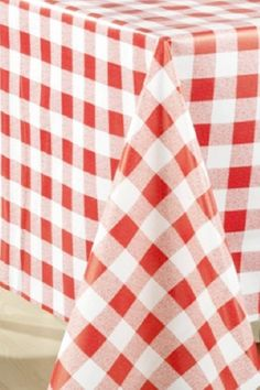 When throwing a party for many people outdoors the best solution is always a vinyl tablecloth that you can simply wipe away if there are any spills, with the knowledge that it won't be ruined. Use this vinyl red gingham tablecloth to decorate the table at your BBQ. See more party ideas and share yours at CatchMyparty.com #catchmyparty #partyideas #bbq #summerbbq #bbqparty #partyideas #summer #grill #bbqpartydecorations #bbqtablecloth Gingham Tablecloth, Vinyl Tablecloth, Bbq Party Decorations, Red Gingham, Throw A Party, Summer Bbq, For Your Party, Table Linens, Table Settings