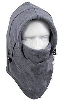SaySure-Männer & Frauen High Qualität Thermo-Polar Fleece CS Maske Full Face Neck Skate Ski Outdoor Radfahren Maske Hats-uk-bg-spt-000224