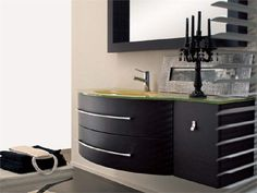 Single wall-mounted vanity unit with drawers COMPOS 193 Compos Collection by LASA IDEA