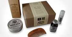 The @White Ribbon Australia Ultimate Beardcare Toolkit from @Worthy and Spruce. Everything you need for fantastic face furniture. Only $140 incl. free shipping.