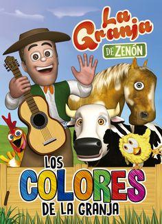 la granja de zenon :los colores de la granja (reino infantil acti vidades )-9788448849580 Diy Projects To Try, Clipart, Scooby Doo, Cactus, Stickers, Fictional Characters, Picsart, Ideas, Products
