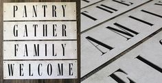 Farmhouse Style Metal Signs