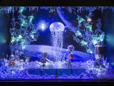 Galeries Lafayette, Paris | Candy's Christmas Windows 2015 | #CandysAdventCalendar
