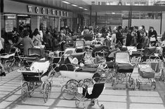 We take a look down memory lane at the shops across Birmingham over the decades. From busy markets to old favourites as the face of the high street changes. Library Pictures, Vintage Pram, Prams And Pushchairs, Bus Pass, Dolls Prams, Pram Stroller, Baby Prams, Hill Station, Baby Carriage