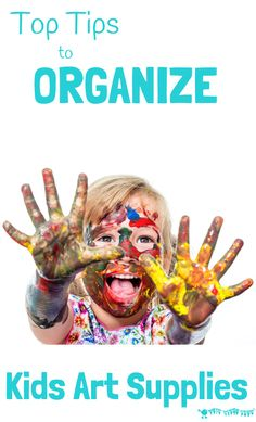 Top Tips To Organize Kids Art Supplies is part of Kids Crafts Organization Creative - Great top tips to organize kids art supplies so they're tidy, accessible and inviting, freeing you up to easily enjoy creative time together every day Diy For Kids, Crafts For Kids, Preschool Art Activities, Preschool Centers, Learning Activities, Craft Organization, Household Organization, Organizing Tips, Organising