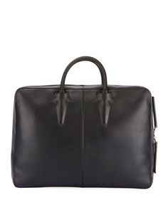 BERLUTI SPY LEATHER BRIEFCASE CONVERTIBLE BACKPACK. #berluti #bags #leather #backpacks #