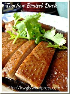 Teochew braised duck or lor ark braised duck teochew braised duck or lor ark braised duck restaurants and asian forumfinder Image collections