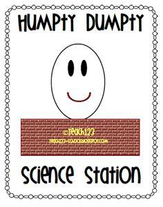 photo of: Humpty Dumpty Nursery Rhyme science Center