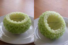 Melon Hearts Bowl by wtimm9, via Flickr
