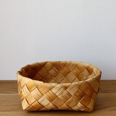 White birch basket by Galina