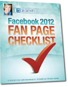 Facebook Fan Page Checklist - Thumnail