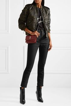 SAINT LAURENT stylish High-rise skinny jeans