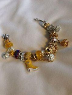 Charm Bracelet (Golden Diva)