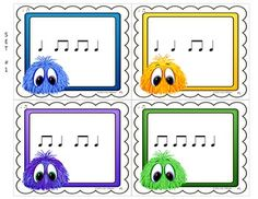 Music Rhythm Game Quarter Note and Quarter Rest {Post Office} Rhythm Games, Music Games, Music Class, Music Education, Preschool Music Activities, Music Lessons For Kids, Rhythmic Pattern, Partition, Piano Teaching